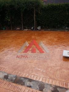 projet en beton imprime
