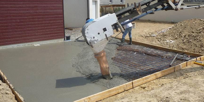 Comment couler une dalle de béton ?