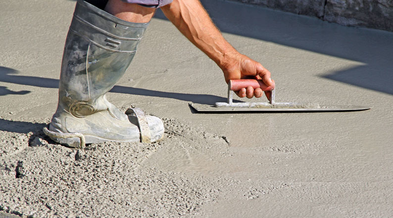 Coulage dalle beton