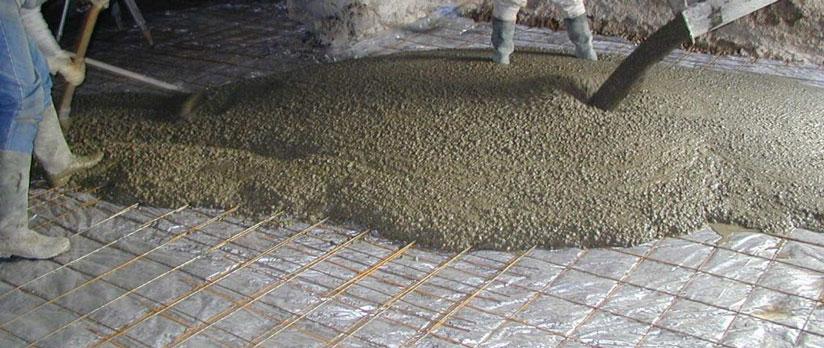 couler dalle beton en interieur