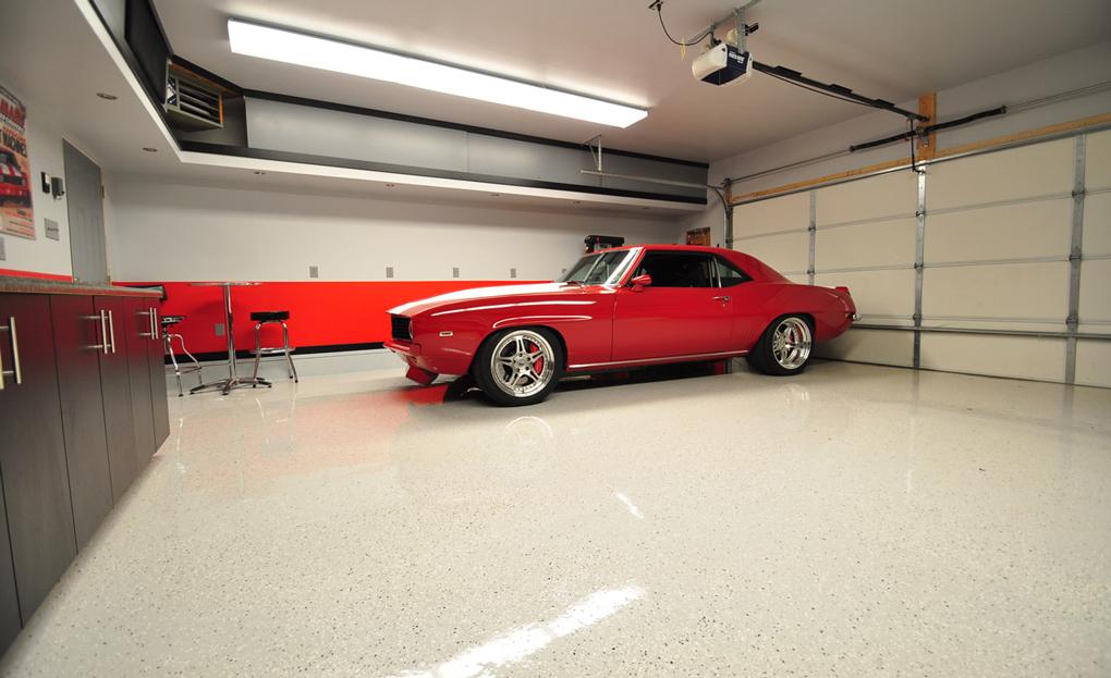 revêtement sol garage epoxy